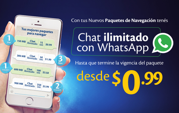 Chat tigo movil